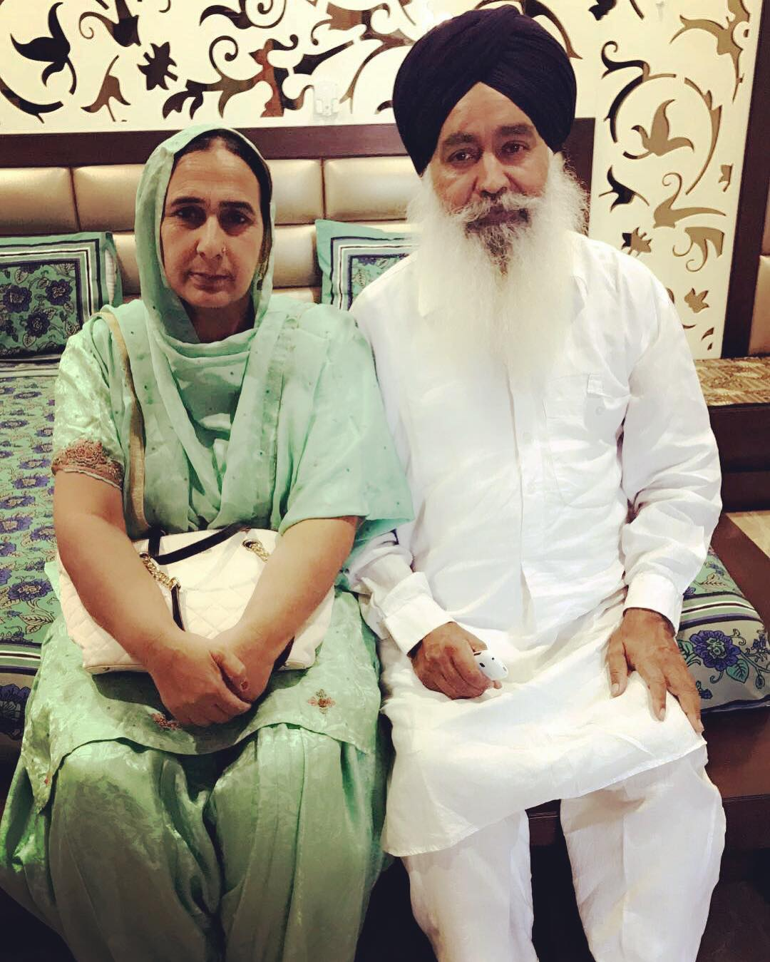 Ammy Virk's Mother and Father
