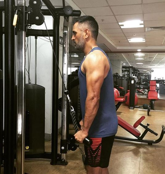 Dhoni Fitness