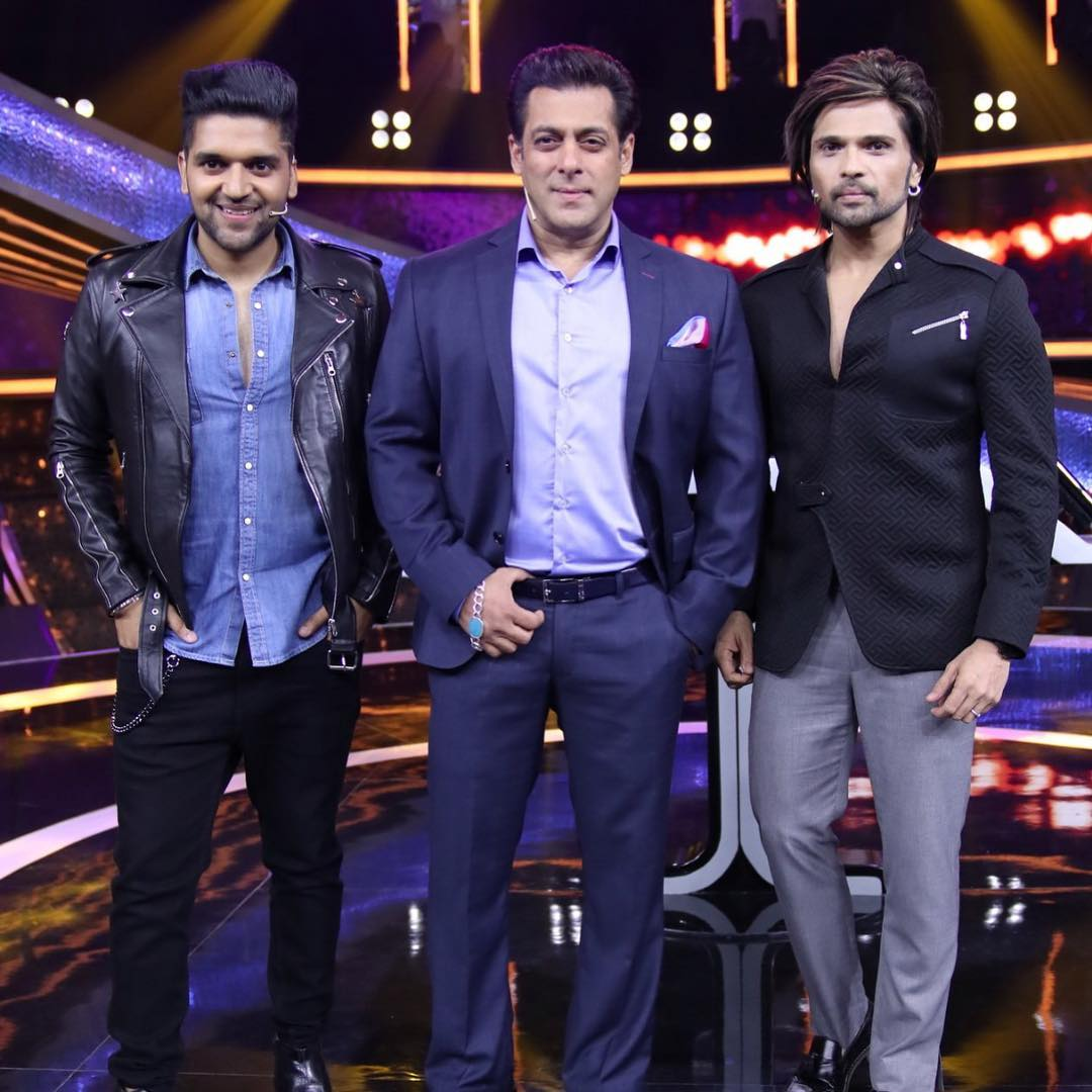 GUru Randhawa With Salman and Himesh