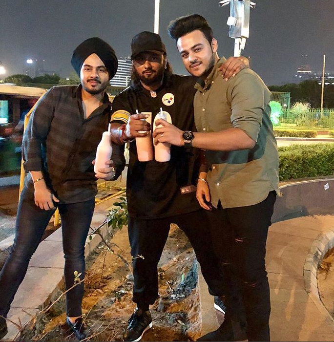 Honey Singh With SinghstaMusic and Hommie DilliWala