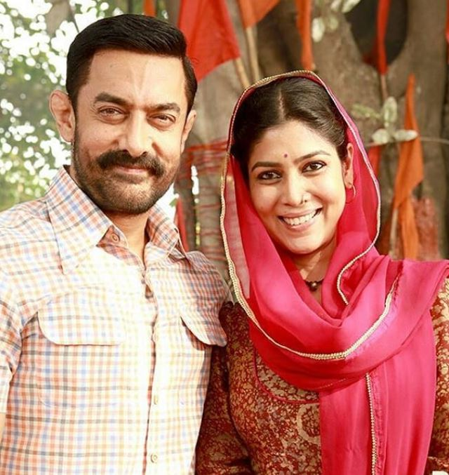 Sakshi Tanwar in Dangal movie