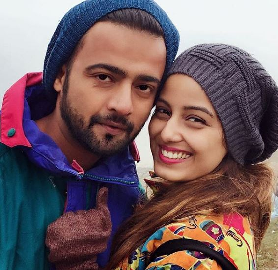 Srishty with Boyfriend