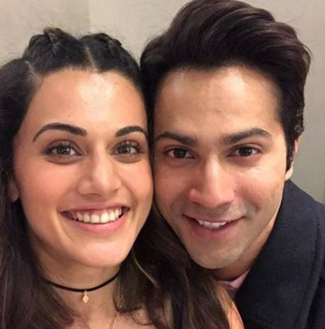 Varun with Tapsee