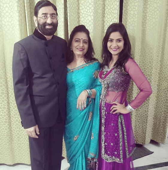Aditi Sharma Family