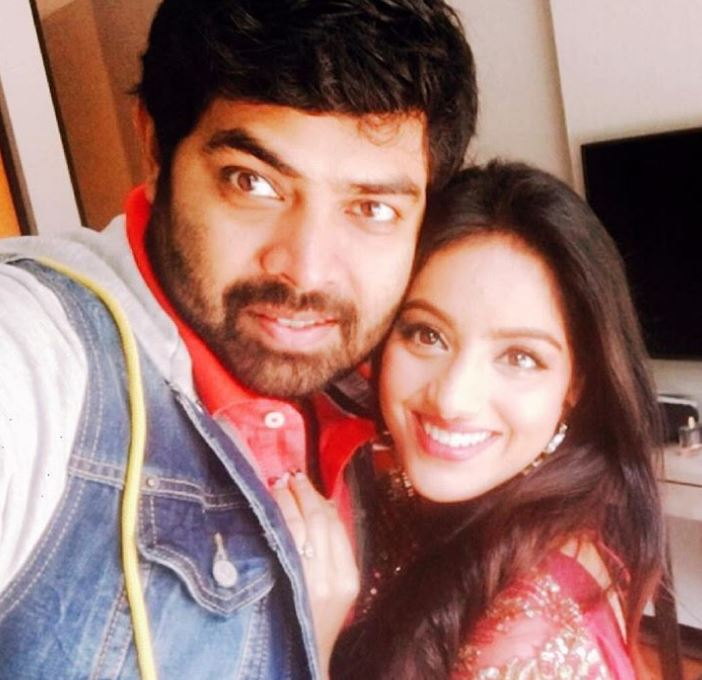 Deepika Singh with husband