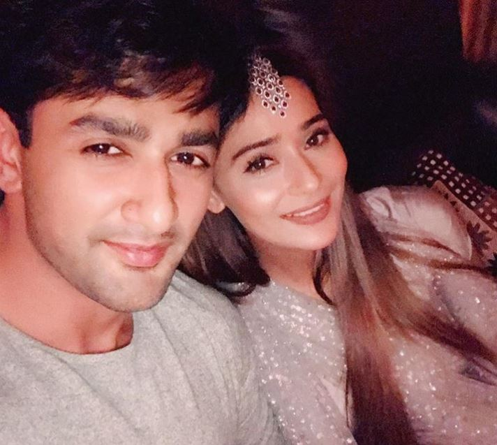 Nishant Singh with Sara Khan