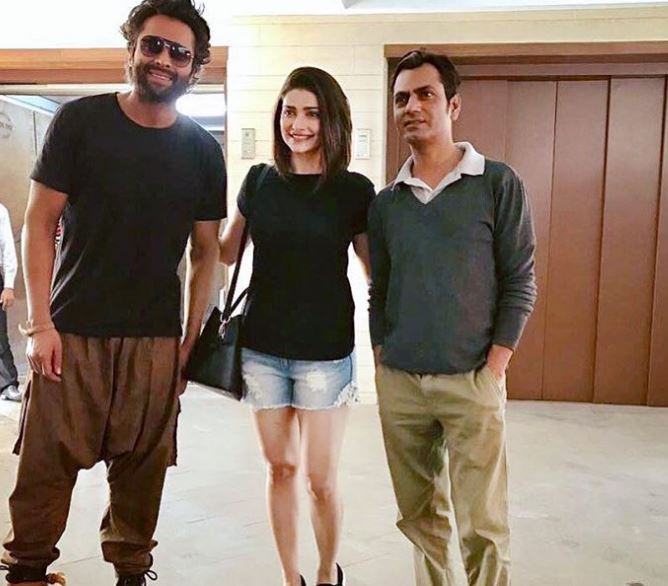 Prachi Desai with Actors