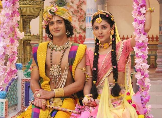 Sumedh Mudgalkar with Radha