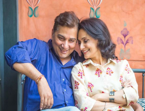 Varun Badola with his Wife