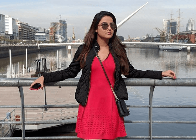 Jasmin Bhasin Indian actress & nominations