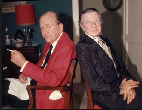 Noel Coward with Graham Payn